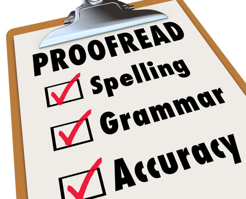 resume critique checklist